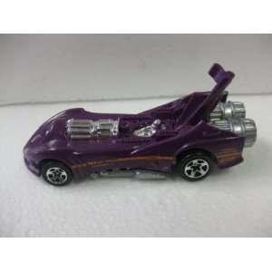 Purple Experimental Jet Engine Rocket Car Matchbox Car