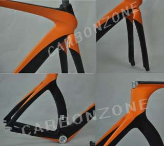 black color full Carbon Triathlon Time Trial TT Bike Frame&Fork