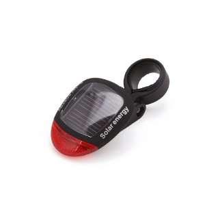 Led light Solar Energy Bicycle Bike Tail light Sports