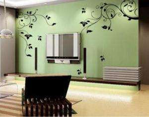 Wallpaper Graffiti Wall/ Glass Sticker Decal VINE 9