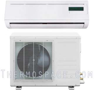 Ductless AC Heat Pump, Mini Split Air Conditioner, Energy Star